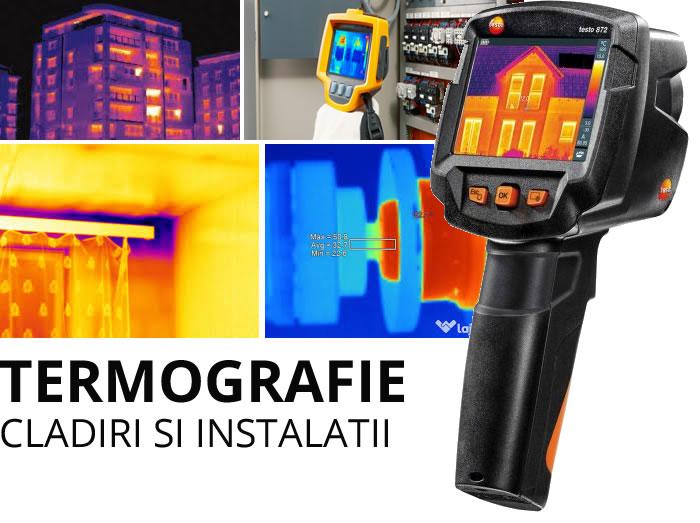 Termografie cladiri si instalatii